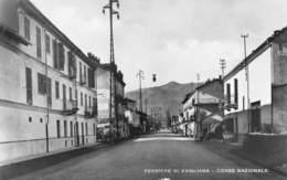 """09507 """"(TO) FERRIERE DI AVIGLIANA - CORSO NAZIONALE""""  ANIMATA. VERA FOTO, SACAT.  CART  NON SPED - Italia"""