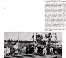 1928 Achèvement Chemin De Fer Ethiopien  Le Ras TAFFARI,gare Addis-Abeba,oeuvre Patronnée Par Ménélik Empereur TBE - Non Classificati