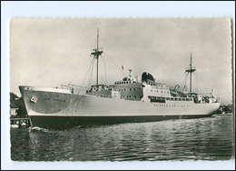 "Y13416/ Handelsschiff French Line ""Fort-Carillon - Fort-Desaix"" Ak 1952   - Handel"