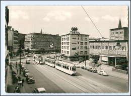 Y12516/ Bochum Massenbergstraße Straßenbahn 1961 AK - Deutschland