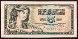 YUGOSLAVIA JUGOSLAVIA 5 + 10 DINARA 1968 FDS / UNC Lotto.599 - Jugoslavia