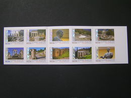 GREECE 2019 Booklets SELF-ADHESIVE Stamps DELPHI MNH.. - Booklets