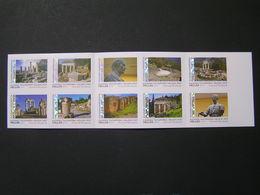 GREECE 2019 Booklets SELF-ADHESIVE Stamps DELPHI MNH.. - Carné