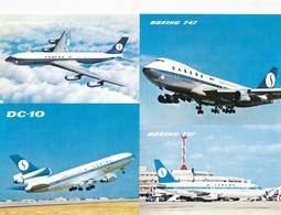 CP - Avion - Vliegtuig - Sabena - Boeing 707 - Boeing 747 - DC-10 - Boeing 737 - Aviation