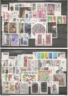 10 ANNEES  COMPLETES  FRANCE  1980-1989  Neuves ( AVEC Les Carnets Et Feuillets à Partir De 1985)  - TB - Frankreich