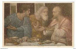 """MILANO:  """" L' ULTIMA  CENA """"  (Leonardo  Da  Vinci)  -  DETTAGLIO  -  FP - Quadri, Vetrate E Statue"""