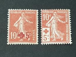 N° 146/147 Neuf * Gomme D'Origine  TB - Unused Stamps