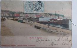 Muelles De Maliano - CPA  1904 Voir état - Cantabria (Santander)