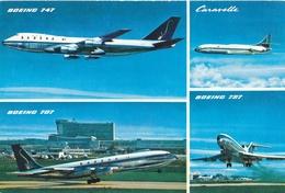 CP - Avion - Vliegtuig - Sabena - Boeing 707 - Boeing 747 - Caravelle - Boeing 727 - Aviation