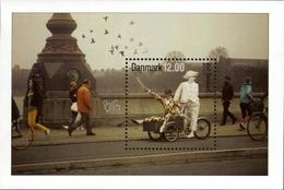 Danemark Danmark 1673/74 Théâtre, Arlequin, Bicyclette - Vélo