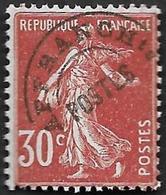 Preo  61 -  Semeuse 30c Rouge Sombre  - Sans Gomme - Préoblitérés
