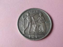 20 Lire 1927 - 1861-1946 : Regno