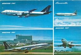 CP - Avion - Vliegtuig - Sabena - Boeing 707 - Boeing 747 - Caravelle - Boeing 727 - Andere