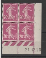 Bloc Coin Daté - Neuf ** - MNH - ....-1929