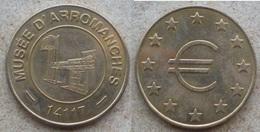 1 Médaille De Collection MUSEE D'ARROMANCHES 14117 Sigle Euro - Tourist