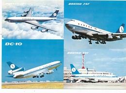 CP - Avion - Vliegtuig - Sabena - Boeing 707 - Boeing 747 - DC-10 - Boeing 737 - Andere
