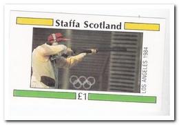 Staffa 1984, Postfris MNH, Olympic Games - Schotland