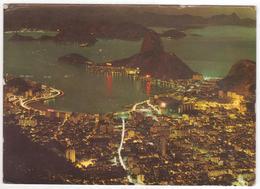 °°° 13764 - BRASIL - RIO DE JANEIRO - PANORAMA BAIA DE GUANABARA - 1970 °°° - Rio De Janeiro