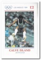 Calve Island 1984, Postfris MNH, Olympic Games - Schotland