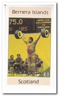Bernera Island 1984, Postfris MNH, Olympic Games - Regionale Postdiensten