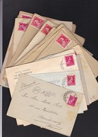 LOT De 18 Lettres ( Enveloppes ) LEOPOLD III - 1934-1935 Léopold III