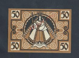 ALLEMAGNE BILLET DE BANQUE DE 1921 : - Banco & Caja De Ahorros