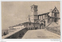 ASSISI (PG):   BASILICA  DI  S. FRANCESCO  -  FP - Chiese E Conventi