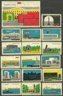RUSSIA 1967 Matchbox Labels - Leningrad (catalog # 173) - Matchbox Labels