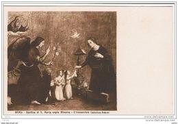 ROMA:  BASILICA  DI  S. MARIA  SOPRA  MINERVA  -  L' ANNUNZIATA  ( Antoniazzo Romano )  -  FP - Vergine Maria E Madonne