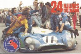 """CP AUTOMOBILE """" 24 HEURES DU MANS - MATRA SPORTS - Le Mans"""