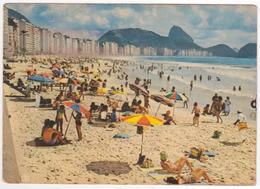 °°° 13767 - BRASIL - RIO DE JANEIRO - PRAIA DE COPACABANA - 1973 °°° - Rio De Janeiro