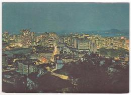 °°° 13768 - BRASIL - RIO DE JANEIRO - THE CITY AT NIGHT - 1967 °°° - Rio De Janeiro