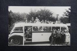 FRANCE - Carte Postale Photo - Autocar Avec Personnages - L 40998 - A Identifier