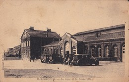 59 Hazebrouck La Gare Et La Passerelle - Hazebrouck