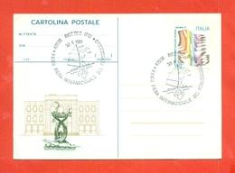 INTERI POSTALI-C186 -  - ANNULLO RICCIONE 30/11/1981 - 6. 1946-.. Repubblica