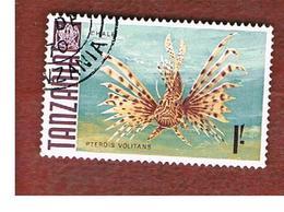 TANZANIA  -  SG 151 -  1967  FISHES: RED LIONFISH     - USED ° - Tanzania (1964-...)