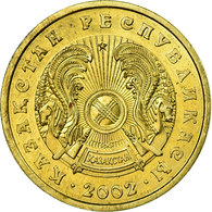 Monnaie, Kazakhstan, 10 Tenge, 2002, Kazakhstan Mint, SPL, Nickel-brass, KM:25 - Kazakhstan