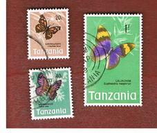 TANZANIA  -  SG 161 -  1973  BUTTERFLIES    - USED ° - Tanzania (1964-...)