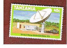 TANZANIA  -  SG 275 -  1979  MWENGE SATELLITE EARTH STATION    - USED ° - Tanzania (1964-...)