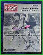 LE MIROIR DES SPORTS Cyclisme Tour De France N°859 1961 Jacques Anquetil Déjà Souverain ! - Sport