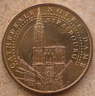 1 Médaille Arthus Bertrand CATHEDRALE NOTRE DAME STRASBOURG 2009 - Arthus Bertrand