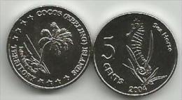 Cocos (Keeling) Islands 5 Cents 2004. High Grade - Münzen