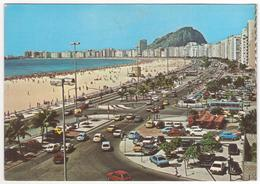 °°° 13771 - BRASIL - RIO DE JANEIRO - PRAIA DE COPACABANA - 1987 °°° - Rio De Janeiro