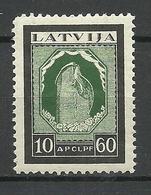 LETTLAND Latvia 1933 Michel 217 A * - Lettland