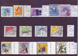 Svizzera 2001 - Lotto Di Usati, Con Serie Pro Patria, Pro Juventute E Altro - Usati