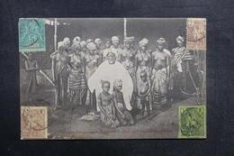 GUINÉE - Carte Postale - Chef De Village Avec Ses ( 17 ) Femmes - L 41010 - Frans Guinee