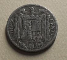 1940 - Espagne - Spain - DIEZ CENTIMOS - KM 766 - [5] 1949-…: Monarchie