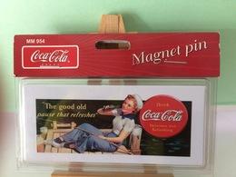 Plaque Magnet Pin De Collection - Coca-Cola - Neuf - Coca-Cola