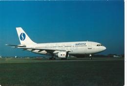 CP - Avion - Vliegtuig - Sabena - Airbus A310-222 - OO-SCB - Aviation