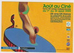 Lot 2 Cp MATTOTTI Lorenzo  Ed Cart'com  -  Août Au Cinema  Paris - Natation Plongeur  - CPM 10,5x15 TBE 1998 Neuves - Other Illustrators